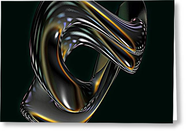Cobra Greeting Card by Greg Moores