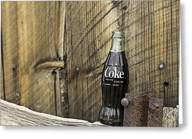 Coca-cola Bottle Return For Refund 9 Greeting Card
