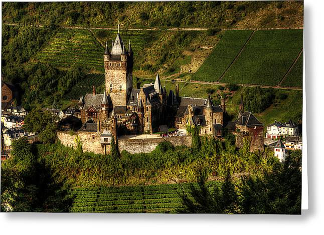Cochem Castle Greeting Card