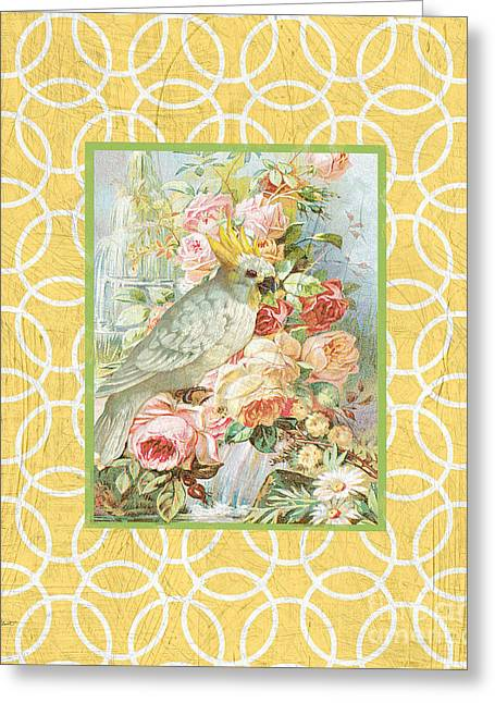 Cockatiel Beauty-a2 Greeting Card by Jean Plout