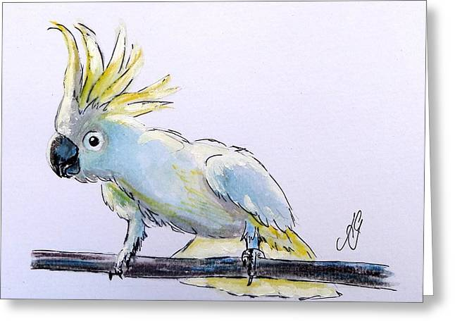 Cockatoo View Greeting Card