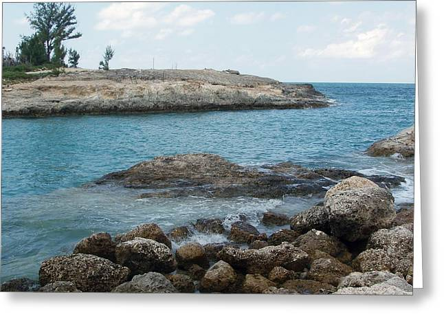 Greeting Card featuring the photograph Cococay In The Bahamas by Teresa Schomig