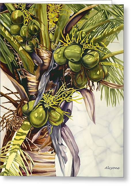 Coconut Bouquet Greeting Card