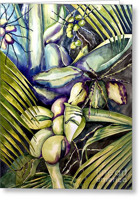 Coconuts Greeting Card