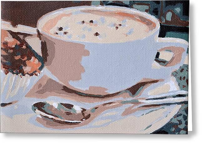 Coffee And Cupcake Greeting Card