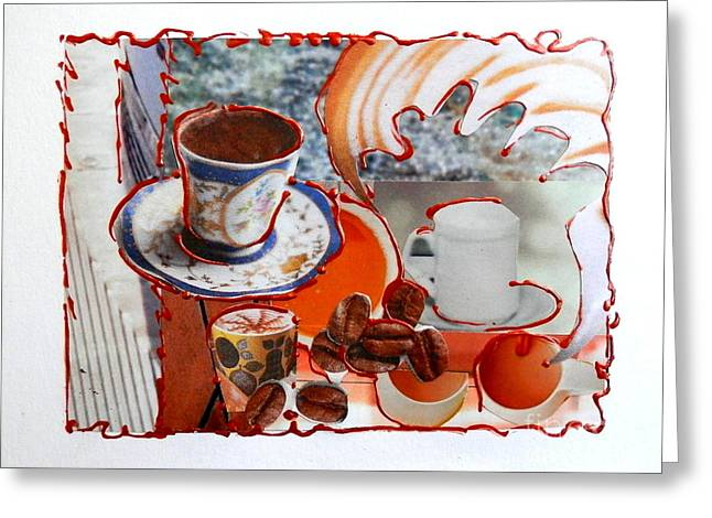 Coffee And Lunch Greeting Card