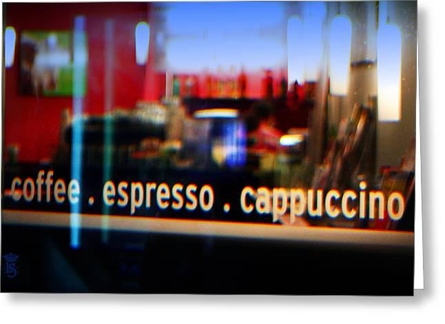 Coffee Suggestion Greeting Card by Li   van Saathoff