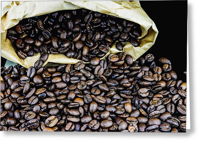Coffee Unmilled  Greeting Card