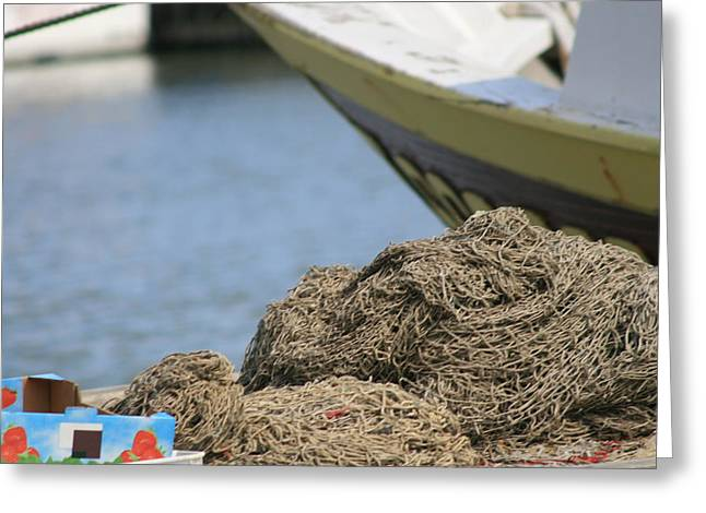 Coiled Fisherman's Net Greeting Card