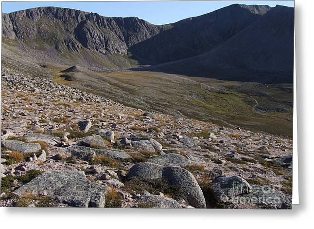 Greeting Card featuring the photograph Coire An T' Sneachda - Cairngorm Mountains by Phil Banks