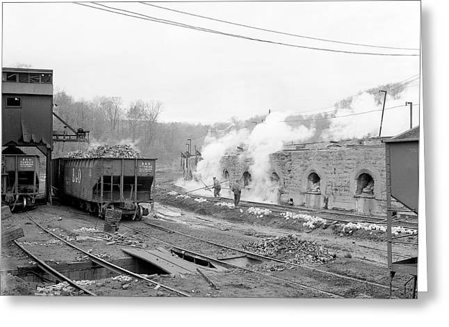 Coke Ovens Greeting Card by Library Of Congress