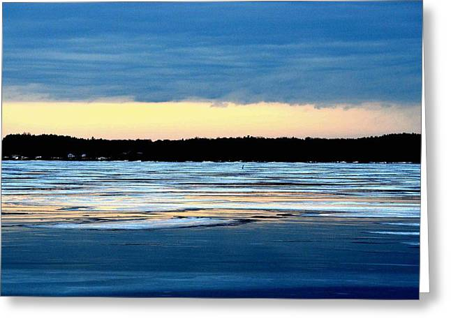 Cold Colour Wash 3 - Canada Greeting Card
