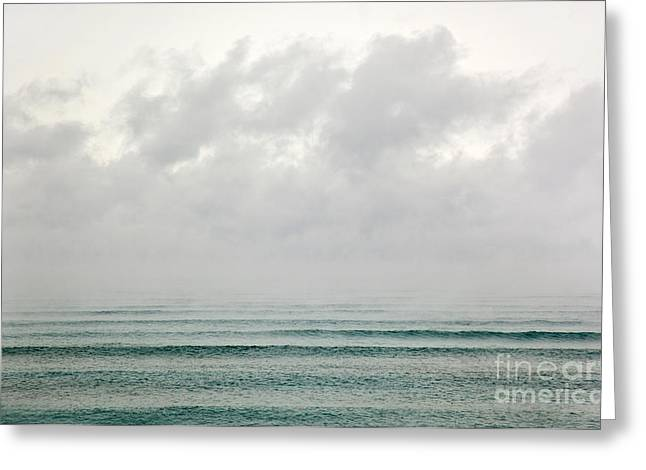 Cold Wave II Greeting Card by Michelle Wiarda