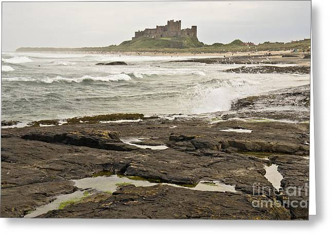 Cold Waves Of Northumberland Greeting Card