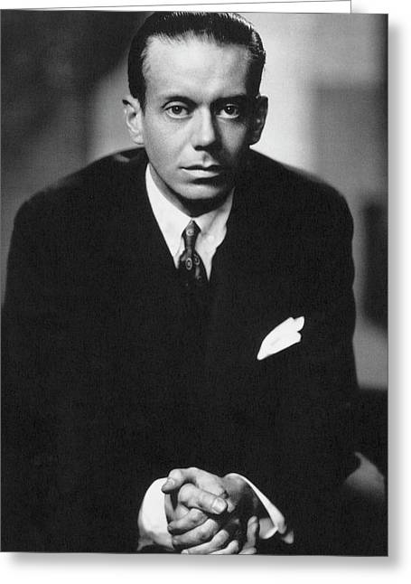 Cole Porter (1893-1964) Greeting Card by Granger