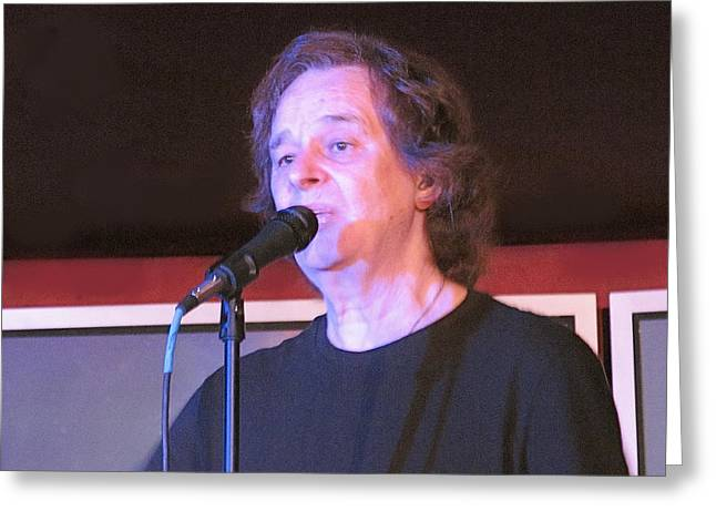 Colin Blunstone Greeting Card by Melinda Saminski
