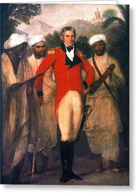 Colin Mackenzie (1754-1821) Greeting Card