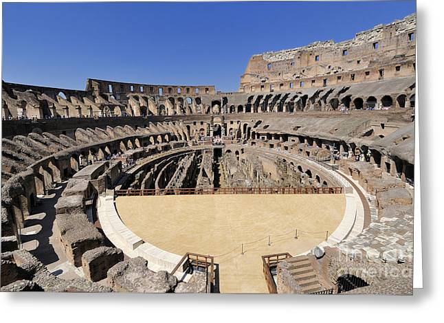 Coliseum . Rome Greeting Card