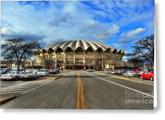 Coliseum Daylight Greeting Card by Dan Friend