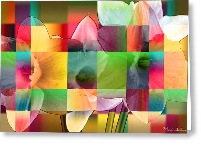 Collage For Sunny Day   Greeting Card by Mark Ashkenazi