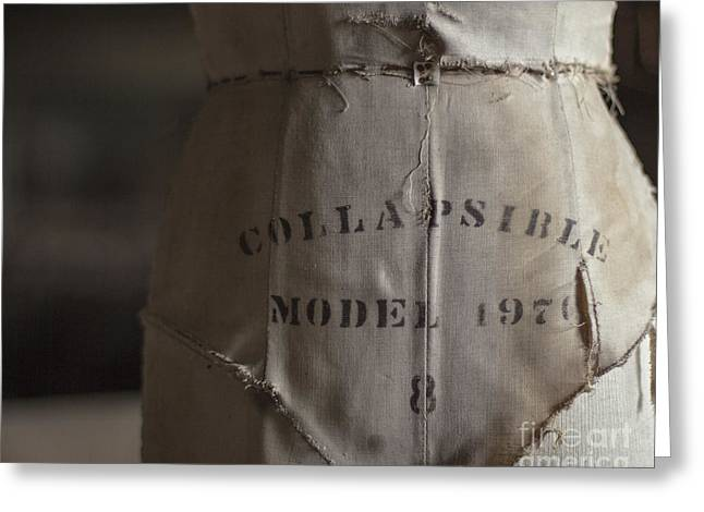 Collapsible Model Greeting Card by Jillian Audrey Photography