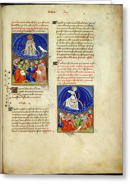 Collected Works Of Christine De Pisan Greeting Card