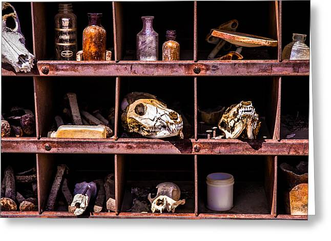 Collection At Techatticup Gold Mine Greeting Card by  Onyonet  Photo Studios