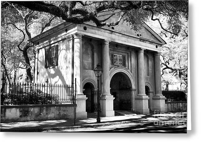 College Of Charleston Greeting Card by John Rizzuto