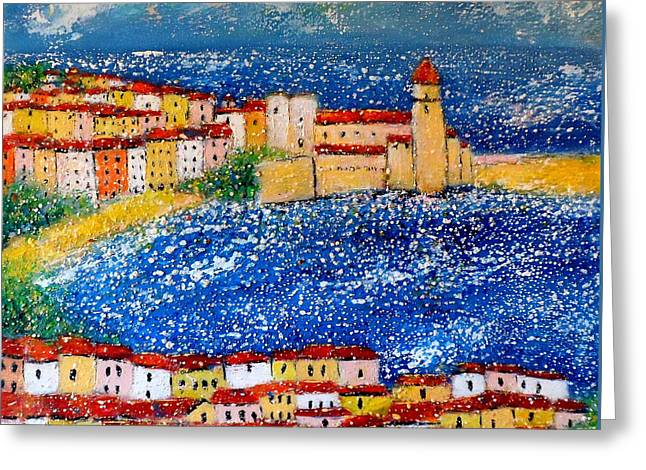 Collioure Greeting Card