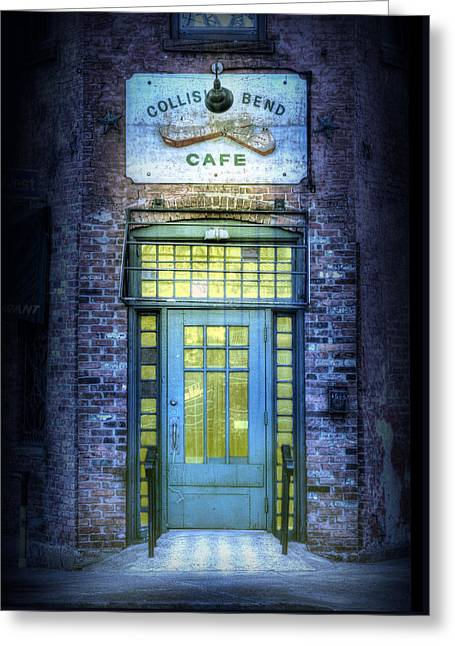 Collision Bend Cafe-cleveland Greeting Card