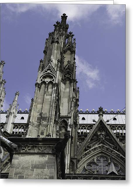 Cologne Cathedral 13 Greeting Card by Teresa Mucha