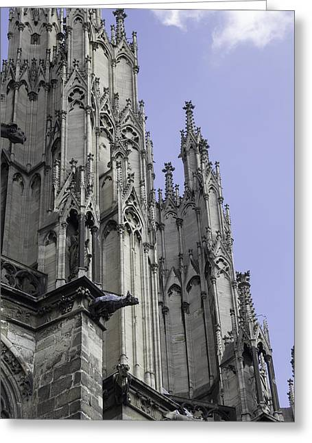 Cologne Cathedral 15 Greeting Card by Teresa Mucha