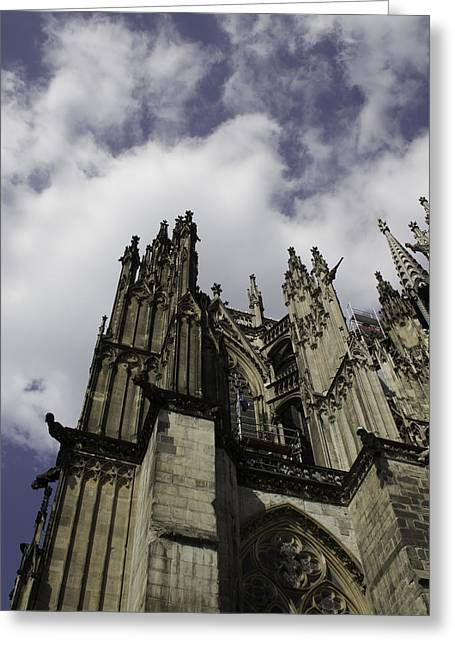 Cologne Cathedral 21 Greeting Card by Teresa Mucha