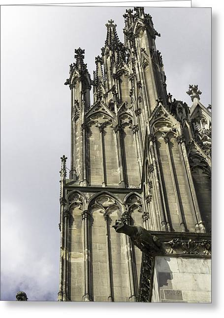 Cologne Cathedral 22 Greeting Card by Teresa Mucha