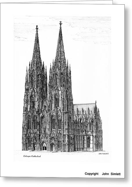 Cologne Cathedral Greeting Card
