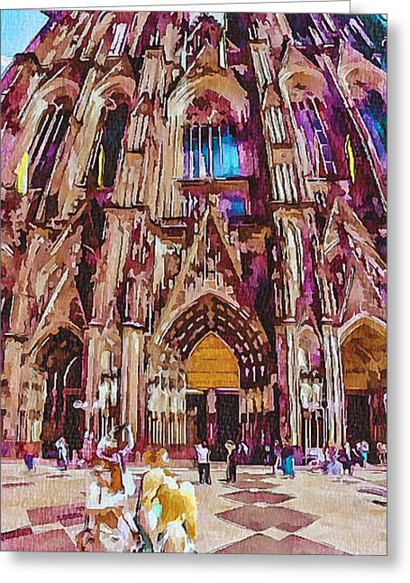 Cologne Dome Greeting Card