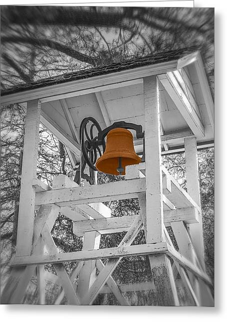 Coloma Church Bell Greeting Card