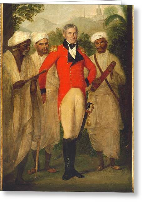 Colonel Colin Mackenzie Greeting Card by British Library