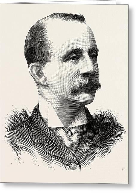 Colonel Turner, Ireland Greeting Card