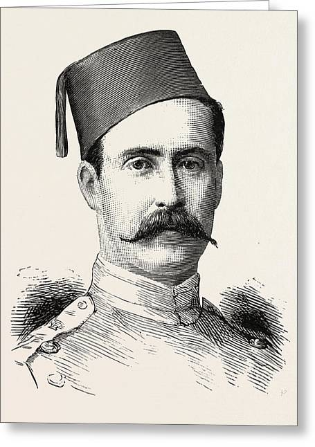 Colonel V.h. Tapp 3rd Battalion, Egyptian Army Greeting Card