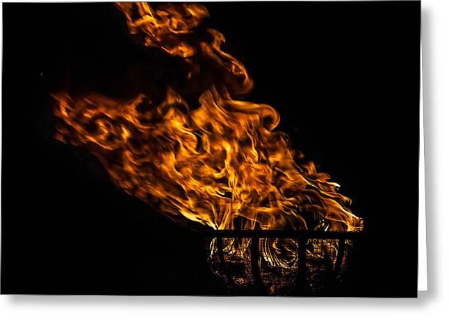 Fire Cresset Greeting Card