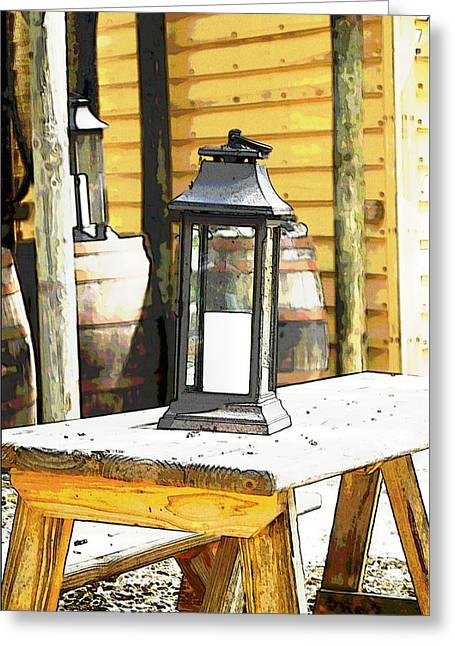 Colonial Light Greeting Card