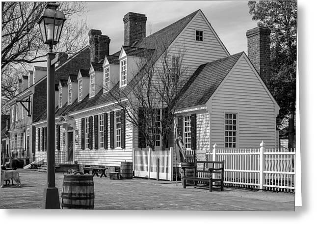 Greeting Card featuring the photograph Colonial Williamsburg  by Trace Kittrell