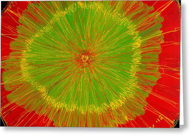 Color Burst 2 Greeting Card