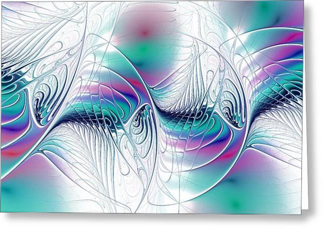 Color Elegance Greeting Card