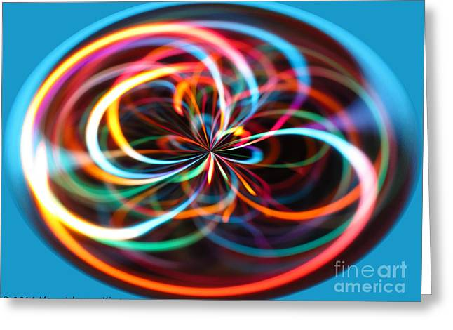 Color Elipse Greeting Card