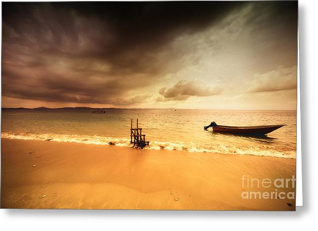 Color Fantasy Greeting Card by Geir Kristiansen