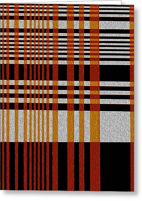 Color Grid Greeting Card by Art Spectrum