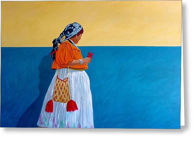 Color Of Mexico Greeting Card by Chris MacClure