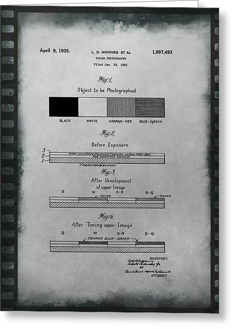 Color Photography Patent On Film Greeting Card by Dan Sproul